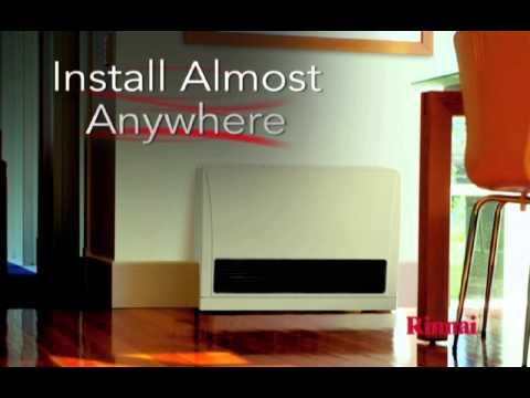 Rinnai EnergySaver® Direct Vent Wall Furnaces