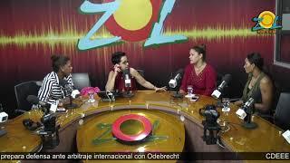 Prisilla Rivera, Annerys Valdez y Candida Arias comentan sobre el tema de los acosos