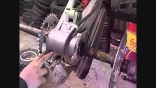 9. How To Remove The Rear Axle On A Honda TRX 400 EX (Sport Quad)