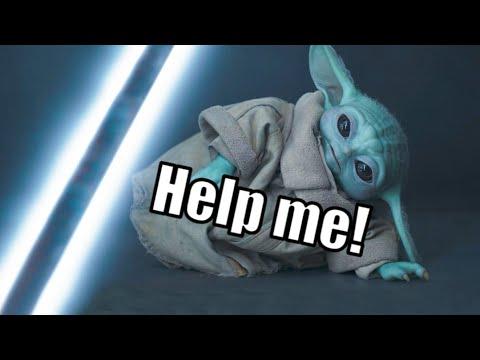 Baby Yoda Taken Captive (With Subtitles)