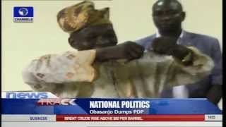 Obasanjo's PDP Membership Card Torn To Shreds