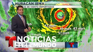¿Qué ocurre ahora mismo con Irma?