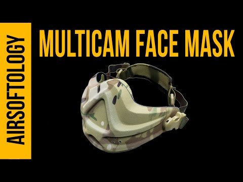 Lancer Tactical Muticam Face Mask | Airsoftology Review