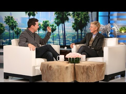 Sean - Ellen sat down with one of her favorites, the hilarious Sean Hayes, to discuss his recent adventures with his other half.