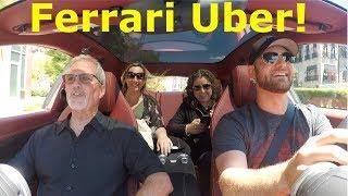 Video Picking up UBER Riders in a Ferrari! BIG TIPS* MP3, 3GP, MP4, WEBM, AVI, FLV September 2018