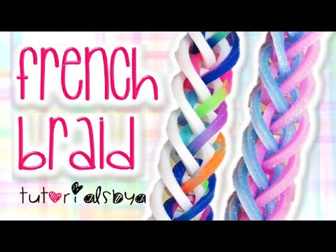 french braid - Copyright © TutorialsByA, 2014. Please do not copy, remake, or redistribute this tutorial or create tutorials on this design without the consent of Tutorials...