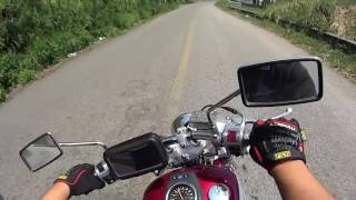 6. Test Ride Suzuki Boulevard s40 in the Hills