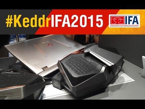ASUS ROG GX700 - первый ноутбук с водянкой - IFA 2015 - Keddr.com