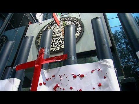 Μεξικό: Διαμαρτυρία δημοσιογράφων για τις δολοφονίες συναδέλφων τους