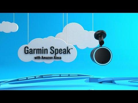 Garmin Speak™ with Amazon Alexa