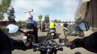 7. 2014 Suzuki SFV 650 Gladius ABS Test Ride