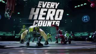 Alliance War Gameplay Preview Trailer - MARVEL Strike Force