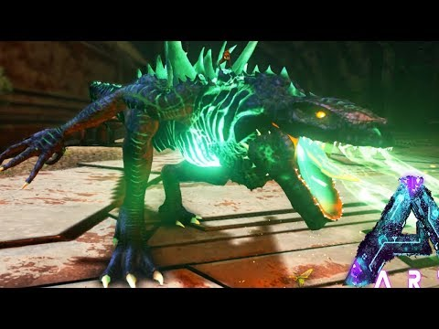 GODZILLA INVADES Ark Aberration PVP SERVER! - (3) Ark Aberration Modded Gameplay