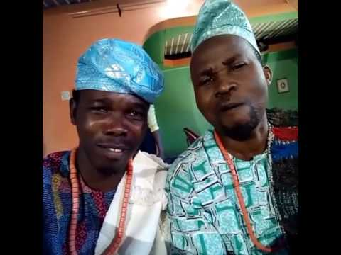 (Funny Video) watch Ijebu and Okunnu in New Movie Shot 'Agba Awo'