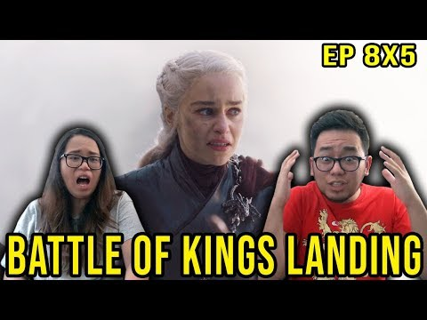 GAME OF THRONES 8x5 Season 8 Episode 5 The Bells REACTION & REVIEW