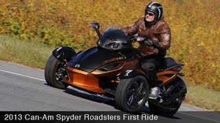 8. MotoUSA First Ride: 2013 Can-Am Spyder Roadsters