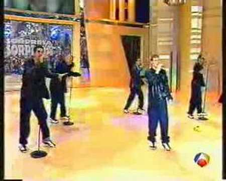backstreet boys as long as you love me live to sorpresa