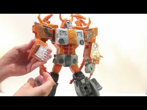 unicron - Video Review of the 2010 Takara/Tomy; Unicron.