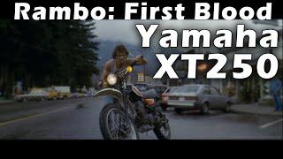 10. Famous Motorcycle. Yamaha XT250