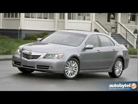 2012 Acura RL: Video Road Test and Review