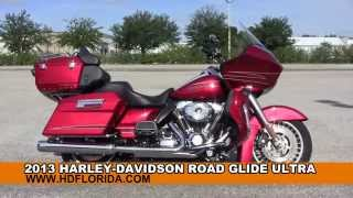 5. Used 2013 Harley Davidson Road Glide Ultra Motorcycles for sale in Gibsonton Fl