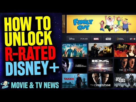 Disney+ R-Rated Content!? - How To Unlock Mature Disney Plus Star Globally!