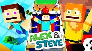 Video The Minecraft Life of Alex & Steve | MOVIE 2 | Minecraft Animation MP3, 3GP, MP4, WEBM, AVI, FLV Juni 2019