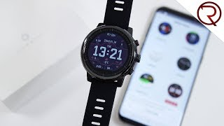 Xiaomi Amazfit Sports Smartwatch 2 Unboxing and Hands-On, Review Coming Soon.