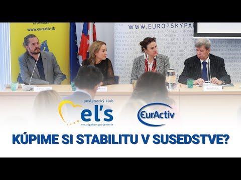 Eduard Kukan a hostia debaty ku Fondu pre trvalo udržateľný rozvoj