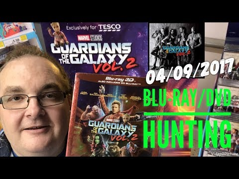 Blu-ray/DVD Hunting With Big Pauly (04/09/17)  - Guardians Of The Galaxy