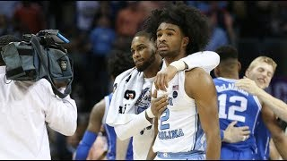 ICTV: Nassir Little and Coby White on UNC's Final Play vs. Duke