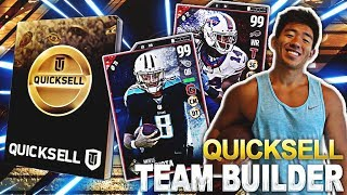 THE MUTWEINERS AND I DO THE QUICKSELL TEAM BUILDER FOR A UT WAGER! WE OPEN UP QUICKSELLS FOR A PREDETERMINED POSITIONS AS WE ALSO HAVE 1 UT WE START OFF WITH WHICH IS WHAT WERE WAGERING WILL WE GET LUCKY!? (WE BOTH DO QUICKSELLS FOR ALL STARTING POSITIONS INCLUDING TE 2,MLB 2, DT 2, WR 3, CORNER 3, AND PUNTER AND KICKERMUTWIENERS CHANNEL:https://www.youtube.com/channel/UCZEz2AEvXwRKYP02ZPEwNWgLike, comment, SUBSCRIBE!FOLLOW MY LIFE HERE:https://www.twitter.com/KayKayEssshttps://www.instagram.com/KayKayEs