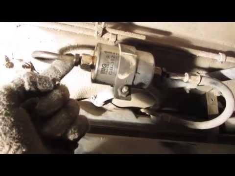 Замена топливного фильтра на ваз 2109 инжектор фото