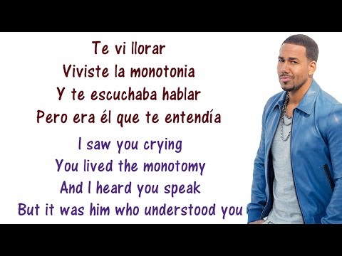Aventura - El perdedor Lyrics English and Spanish - Tranlsation & Meaning - The loser
