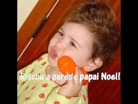 Giulia Soncini – Jujuba 1 ano…quem riscou a parede Papai Noel?