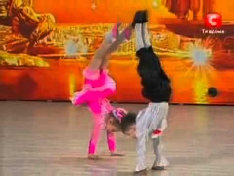 bambini che danzano