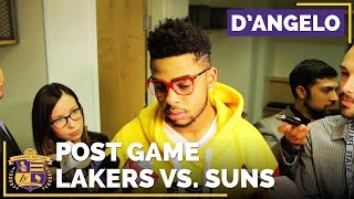 D'Angelo Russell Recaps Lakers Preseason Progress After Final Game by Lakers Nation