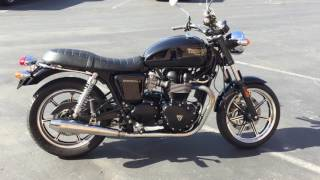9. Contra Costa Powersports-Used 2010 Triumph Bonneville 865cc retro twin cylinder motorcycle