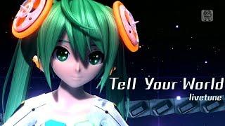 Video [1080P Full風] Tell Your World -Hatsune Miku 初音ミク Project DIVA Arcade English lyrics Romaji subtitles MP3, 3GP, MP4, WEBM, AVI, FLV Desember 2017