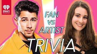 Video Nick Jonas Challenges A Super Fan In A Trivia Battle | Fan Vs. Artist Trivia MP3, 3GP, MP4, WEBM, AVI, FLV Maret 2019
