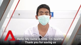 Video Thai cave rescue: Interview with Wild Boars and coach Ek MP3, 3GP, MP4, WEBM, AVI, FLV Desember 2018