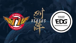 Video SKT vs. EDG | Group Stage Day 8 | 2017 World Championship | SK telecom T1 vs Edward Gaming MP3, 3GP, MP4, WEBM, AVI, FLV Agustus 2018