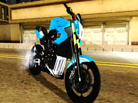Pack de motos para GTA San Andreas