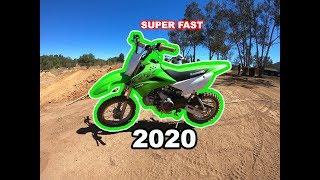 1. 2020 klx 110 L Fastest Pit bike Yet ?!