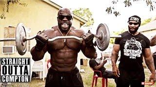 Straight Outta Compton {HOOD WORKOUT}: Kali Muscle + CT Fletcher + Big Rob + Big Hurk | Kali Muscle