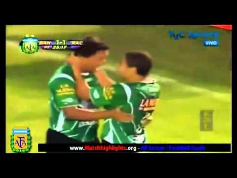 Gol de Marcelo Carrusca con Banfield