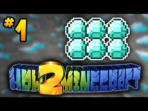 """How to Minecraft Season 2 """"DIAMONDS!"""" #1 w/ PrestonPlayz"""