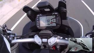10. 2015 Ducati Multistrada 1200s DVT top speed