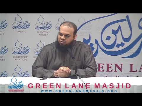 Building for the Hereafter - Shaykh Ahsan Hanif
