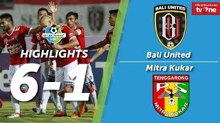 Video Bali United vs Mitra Kukar: 6-1 All Goals & Highlights MP3, 3GP, MP4, WEBM, AVI, FLV Oktober 2017
